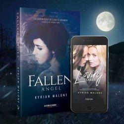 """""""Fallen Angel"""" : La préquelle fantastique de la saga lesbienne """"Loving Clarke"""""""